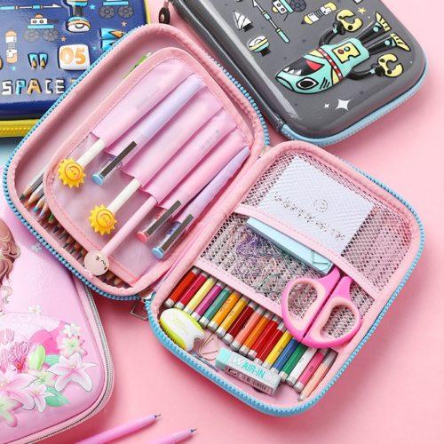 Colorful Hard Pen Case Box