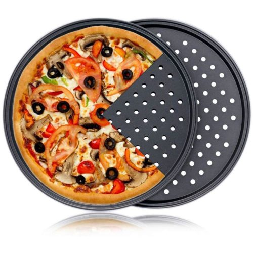 Carbon Steel Perforated Pizza Pan