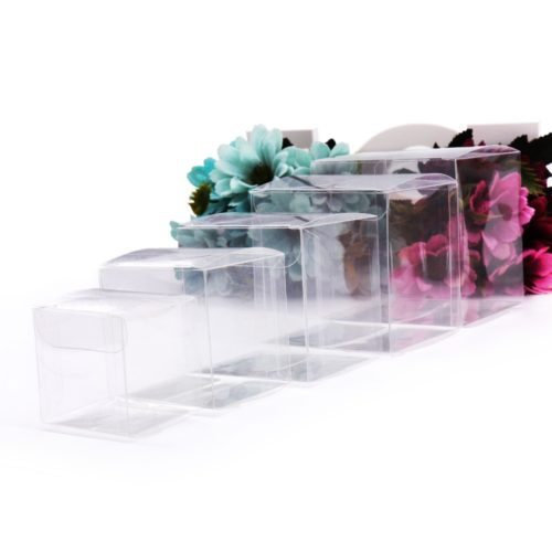 Clear Display Boxes Gift Packaging (10 Pcs)