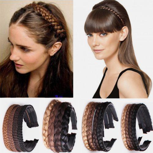 Fake Braid Headband Hair Accessory