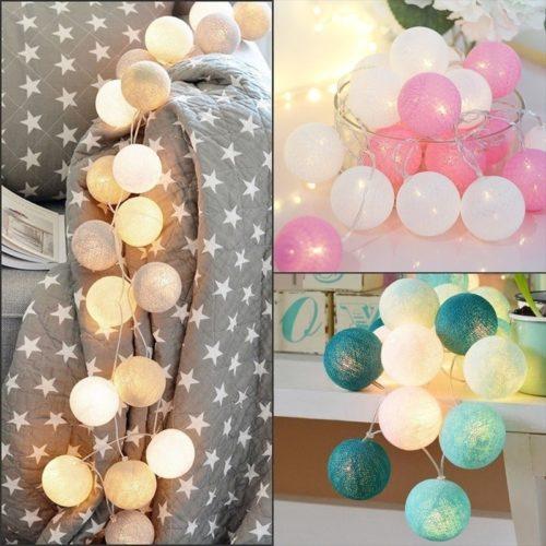 String Ball Light LED Decor