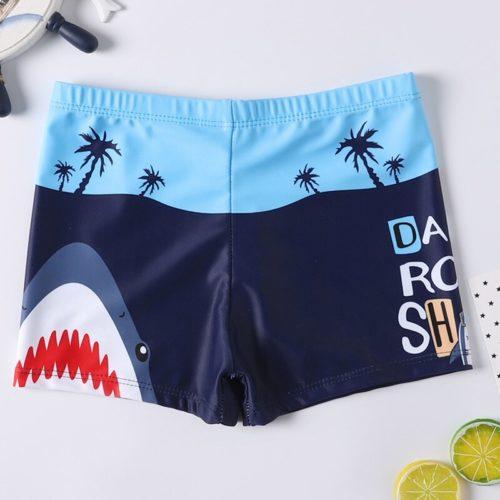 Boys Swimming Trunks Kids Beachwear