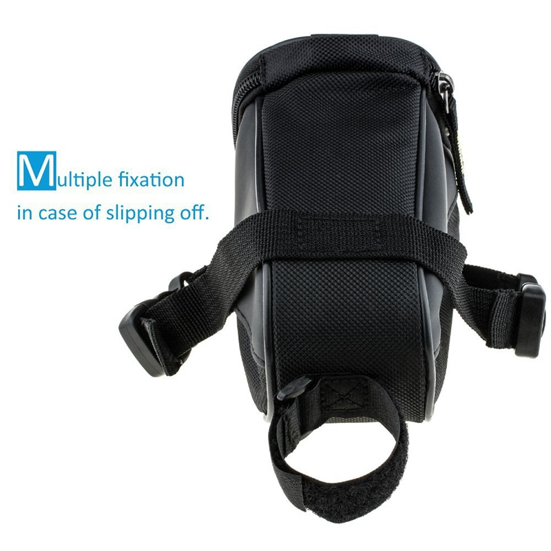 Cycling Portable Waterproof Bike Saddle Bag Cycling Seat Pouch Bicycle Tail Bags Rear Cycling Repair Tool Bicycle Accessories