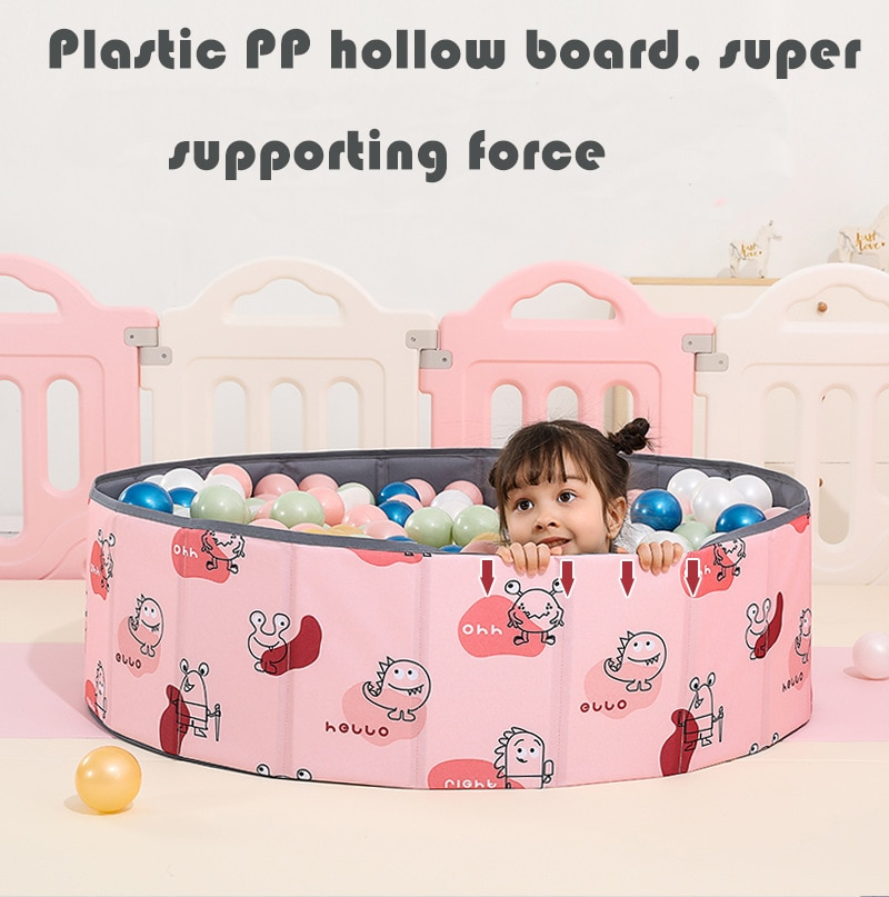 Foldable Dry Pool Infant Ball Pit Ocean Ball Playpen For Baby Ball Pool Playground Toys For Baby Kids Gift