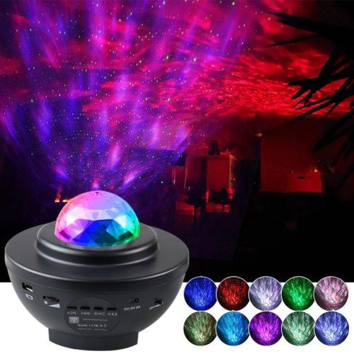 Galaxy Lamp Projector Bluetooth Speaker