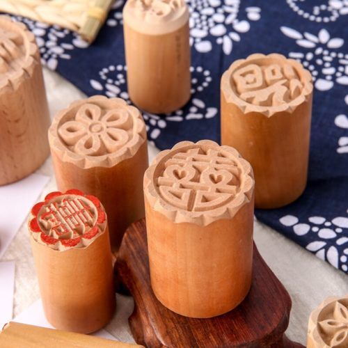 Traditional Wooden Mooncake Stamp