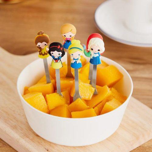 Princesses Fruit Fork Set (6 pcs)