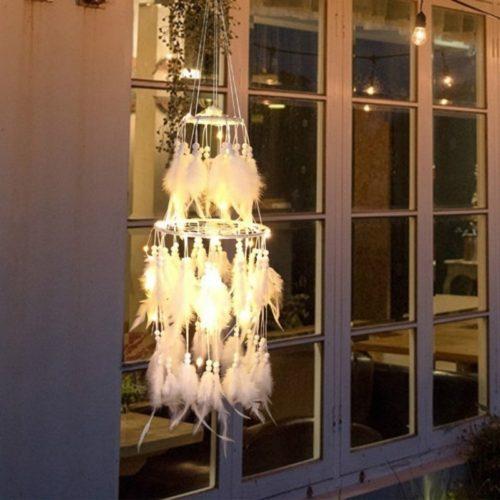 LED Light Dream Catcher