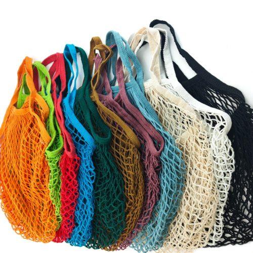 Mesh Grocery Bag Reusable Tote