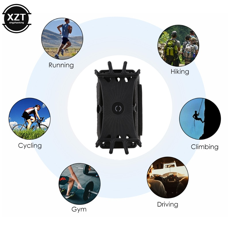 Universal Outdoor Sports Phone Holder Armband Wrist Case for Samsung Gym Running Phone Bag Arm Band Case for iPhone xs max