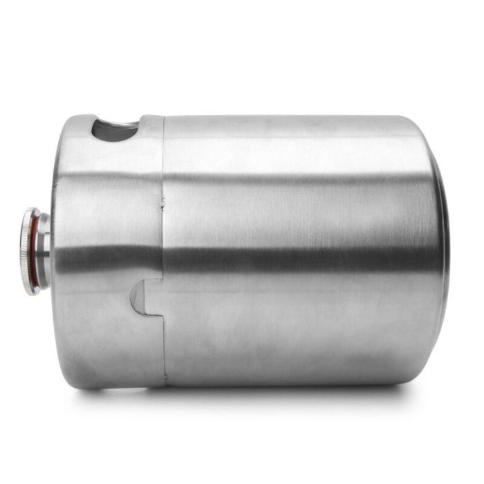 Stainless Steel 2L Mini Beer Keg