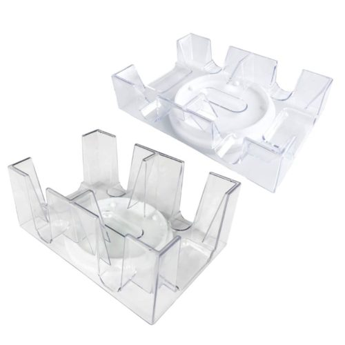 Rotating Clear Playing Card Tray