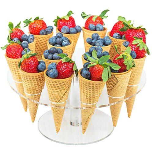 Ice Cream Cone Display Acrylic Stand