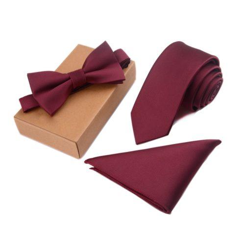 Tie Set for Men with Handkerchief
