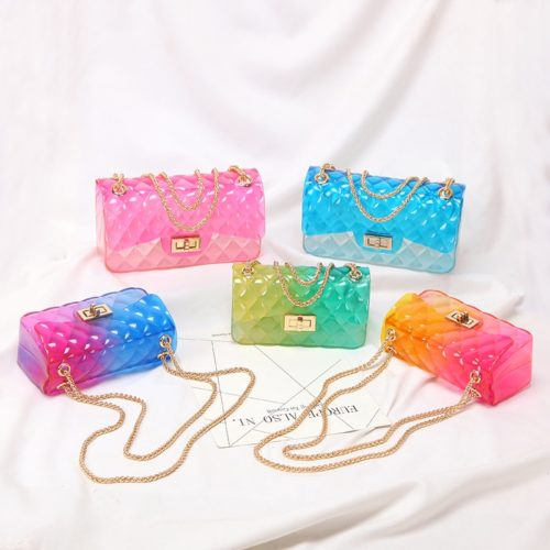 Clear Jelly Purse for Ladies
