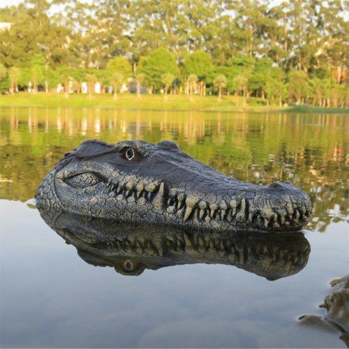 Remote Control Alligator Head Water Toy