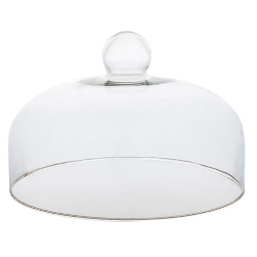 Glass Cake Dome Dustproof Cover
