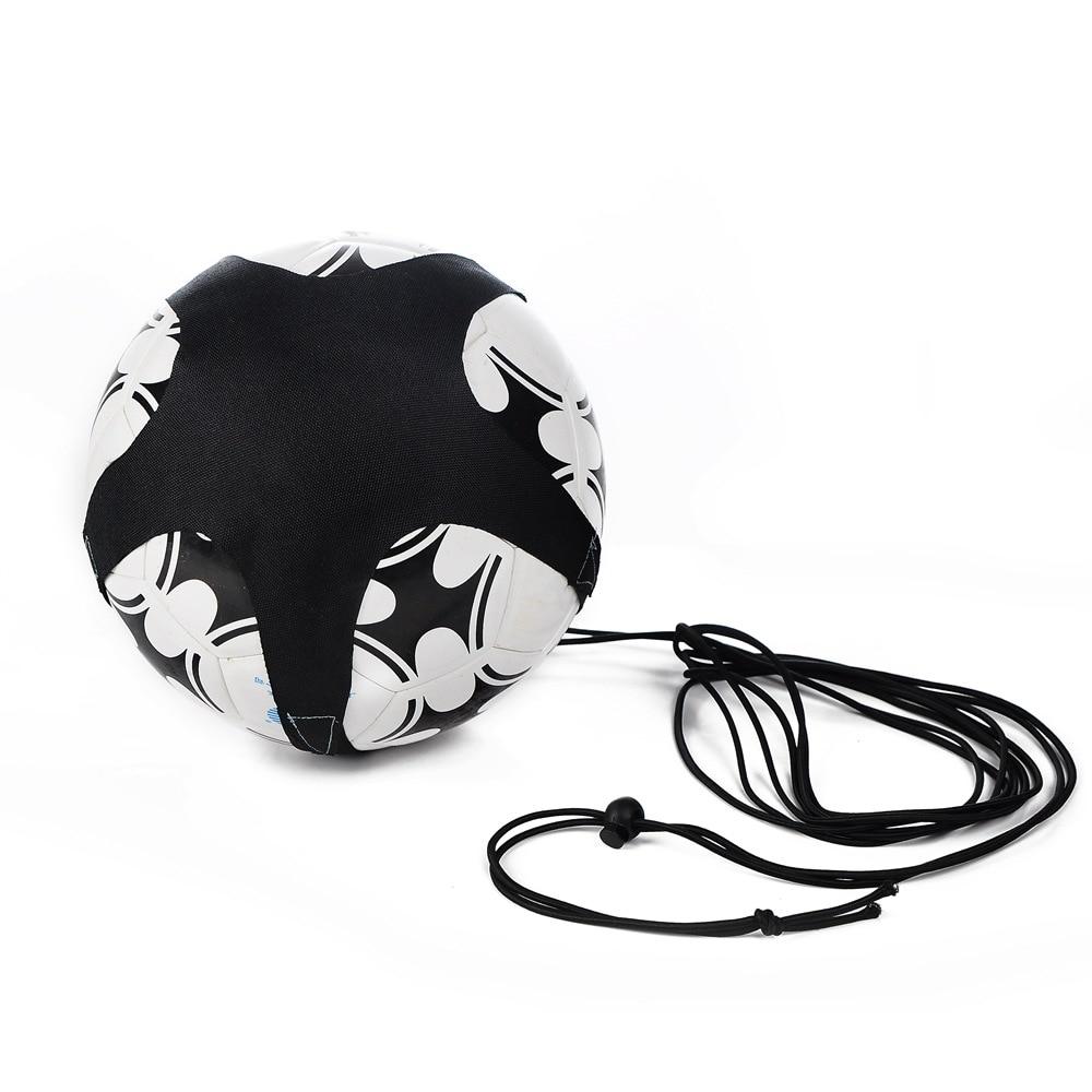 Soccer Ball Juggle Bags Children Auxiliary Circling Belt Kids Football Training Equipment Kick Solo Soccer Trainer Football Kick