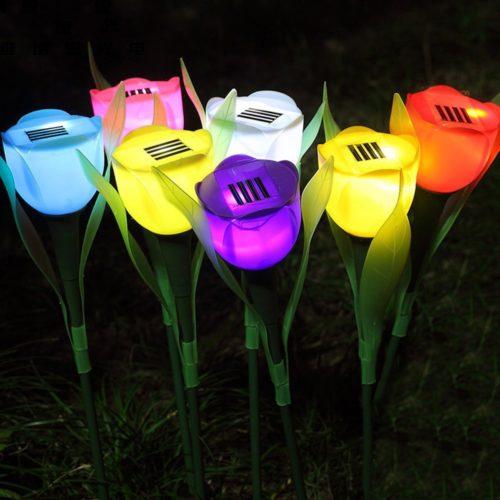 Tulip Solar Light LED Garden Flower