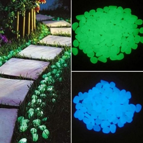 Glowing Pebbles Garden Luminous Stones