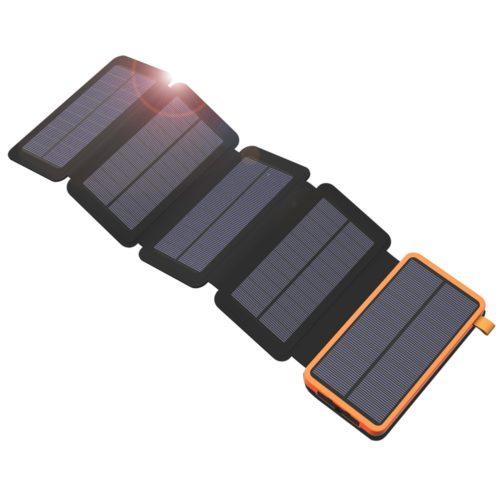 2000 mAh Solar Charging Power Bank