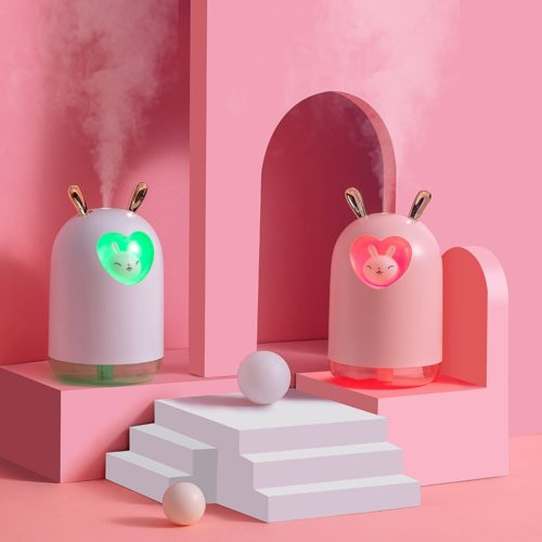 Rabbit Humidifier with LED Lamp
