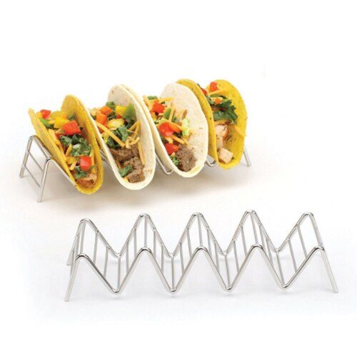 Taco Rack Stainless Steel Stand