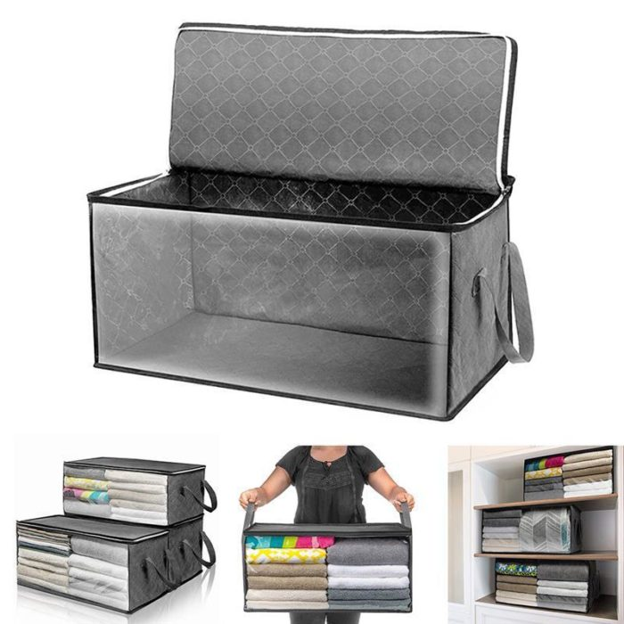 Foldable Storage Box Dustproof Organizer