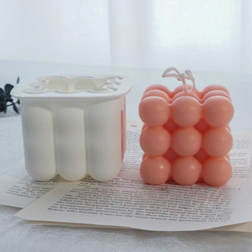 Silicone 3D Bubble Candle Mold