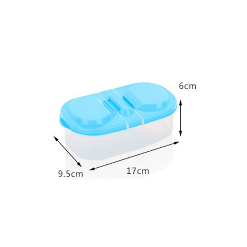 1 PCS Healthy Plastic Food Container Portable Lunch Box Capacity Camping Picnic Food Fruit Container Storage Box