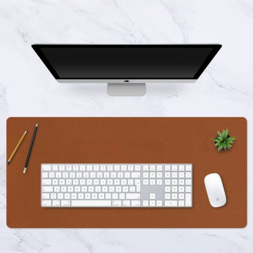 Double-Sided PU Leather Mouse Mat
