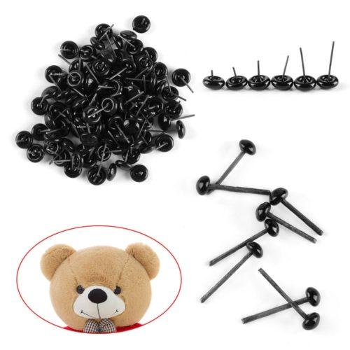 Teddy Bear Eyes DIY Supplies (100pcs)