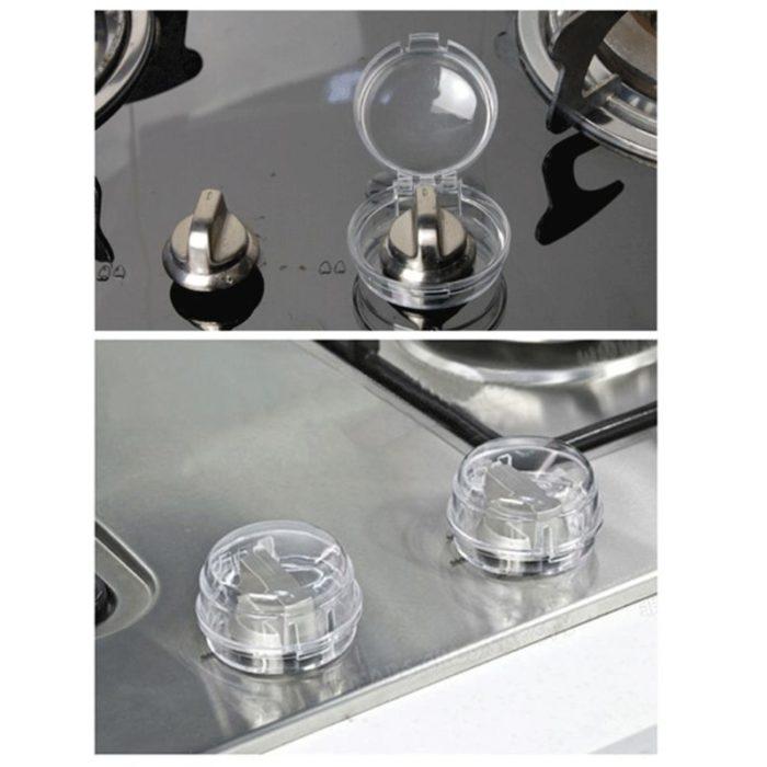 Transparent Oven Knob Covers (6pcs)