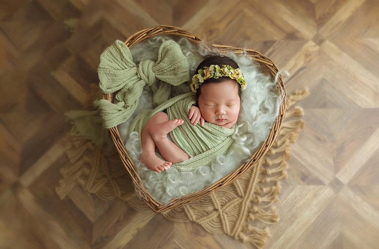 Photography Baby Props Baby Shoot Studio Woven Accessori Basket Photo Props Baby Newborn Photography Prop Newborn Accessori