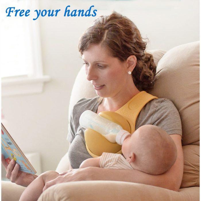 Over the Shoulder Hands Free Bottle Holder
