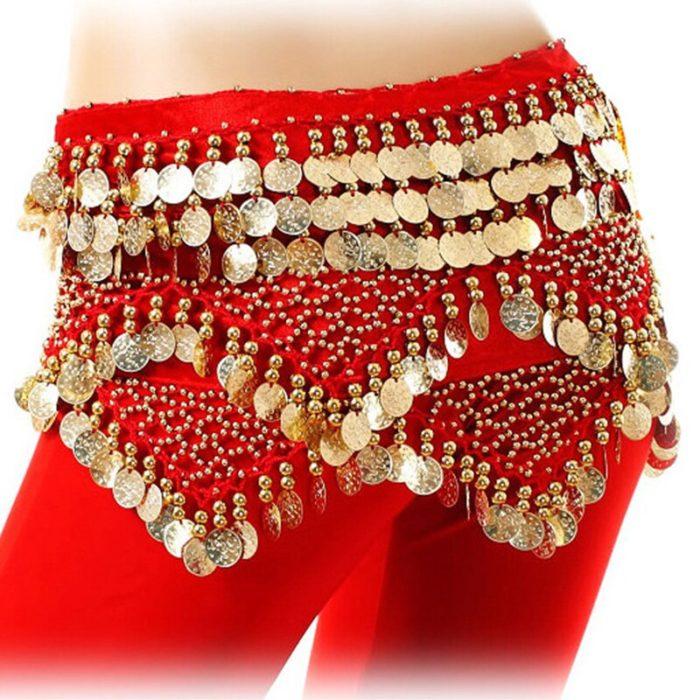 Belly Dance Hip Scarf Ladies Dancewear