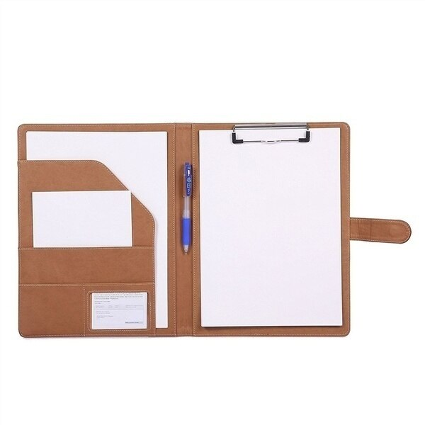 Multifunctional A4 Conference Folder Business Stationery Folder Leather Contract File Folders