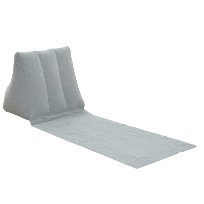 Inflatable Lounger Beach Mat with Backrest