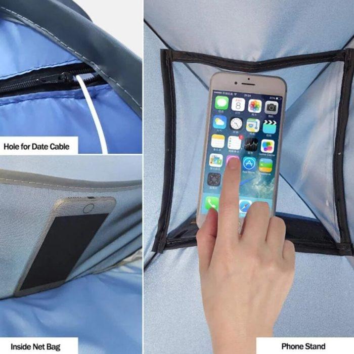 Head Tent Windproof Sunshade