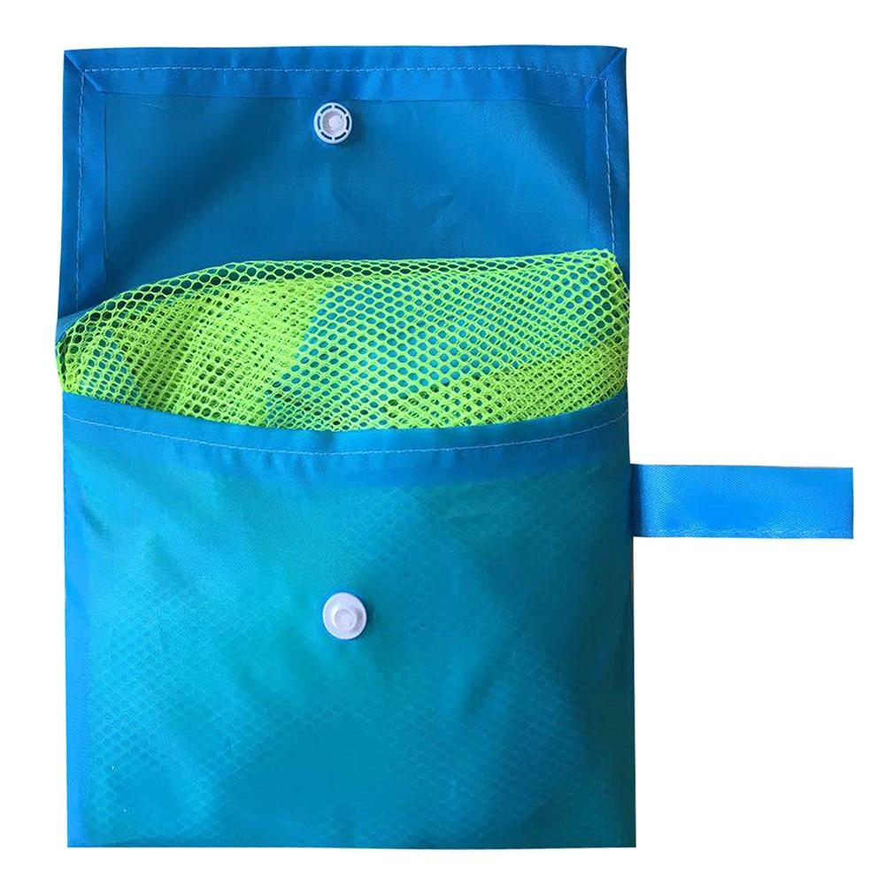 Outdoor Swimming Beach Bag Foldable Mesh Swimming Waterproof Bag For Kids Beach Toy Mesh Tote Bags Beach Swimming Sport Bags