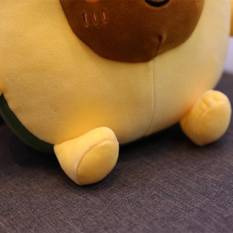 30-60CM Cute Avocado Stuffed Plush Toy Filled Doll Cushion Pillow Child Child Christmas Gift Girl Baby Girl
