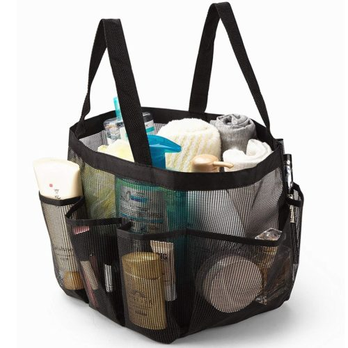 Mesh Shower Caddy Tote Bag