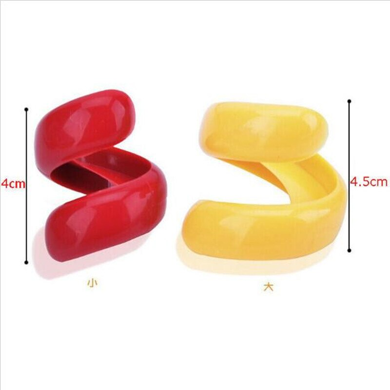 2PCS Manual Fancy Sausage Spiral Barbecue Hot Dogs Cutter Slicer kitchen Cutting Auxiliary Gadget Fruit Vegetable Tools