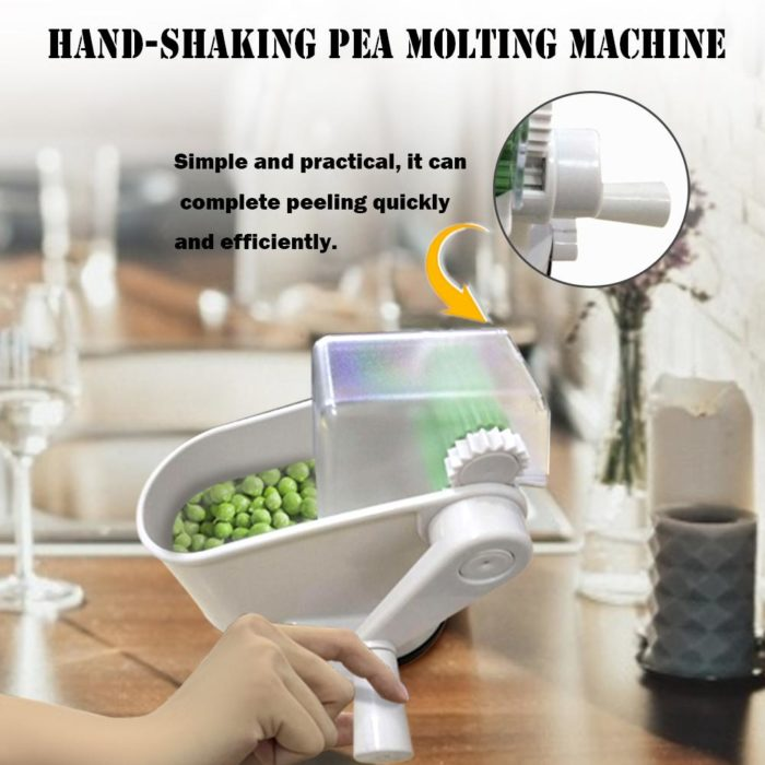 Hand Crank Peas Peeling Machine