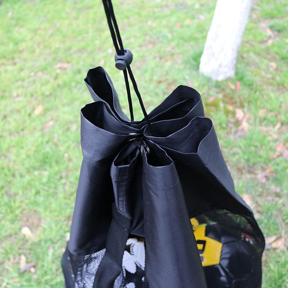 Outdoor Soccer Football Carrying Sack Extra Large Ball Shoulder Bag Waterproof Basketball Storage Bag Net Sports Mesh Drawstring