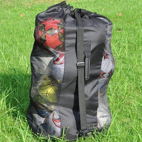 Mesh Drawstring Soccer Ball Bag