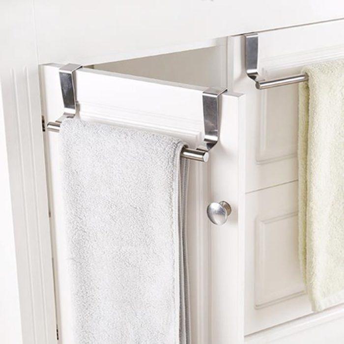 Stainless Steel Over Door Towel Rail