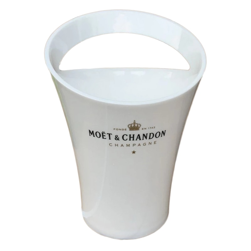 Ice Bucket Chandon Wine Beer Partyfor 3L Acrylic White Ice Buckets Wine Coolers Wine Holder New Fashion