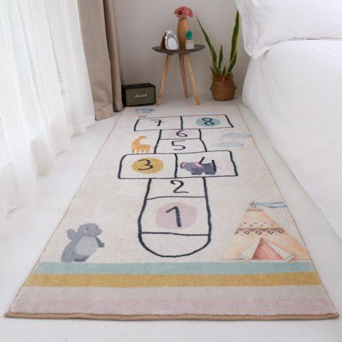 Hopscotch Play Mat Floor Rug