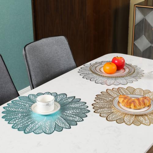Table Flower Placemats Set (6 Pcs)